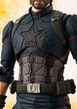 Tamashii Nations Bandai S.H. Figuarts Captain America & Tamashii Effect Explosion Avengers: Infinity War Action Figure