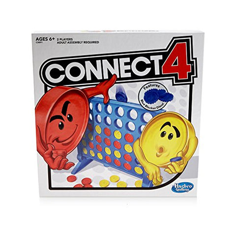 Hasbro Connect 4 Strategy Board Game Exclusive kids & Young Adult