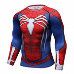 Men's Red Spider T-Shirt Sport Fitness