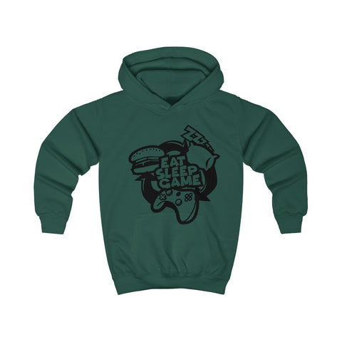Kids Eat Sleep & Game Hoodie