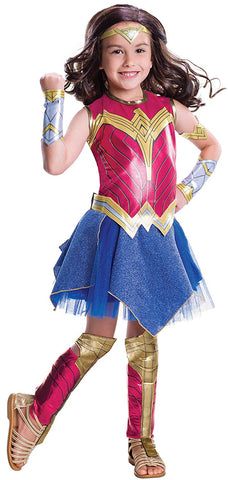 Rubie's Wonder Woman Movie Child's Deluxe Costume, Small
