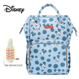 Disney Large Capacity USB Oxford Cloth Insulation Bags The Story Of City Bottle Feeding Storage Bag Waterproof Diaper Bags
