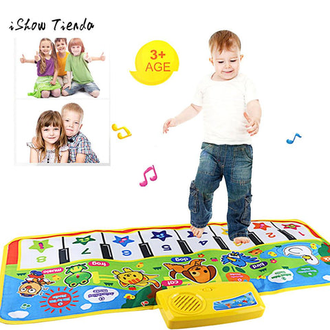 New Music Mat Children Piano Game Blanket Touch Play Keyboard Music Singing Gym