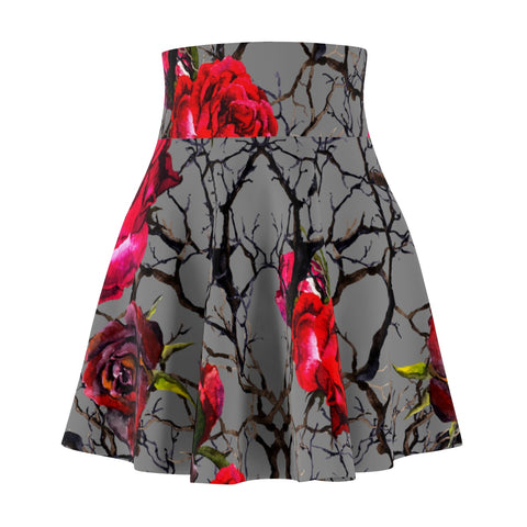 Floral Fall Women's Skater Skirt