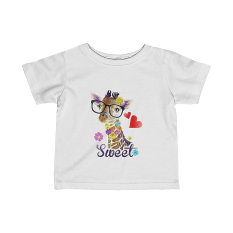 Baby Girl/Infant Fine Jersey Tee