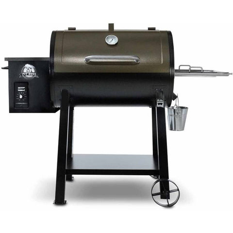 Pit Boss 440D Wood Fired Pellet Grill w/ Flame Broiler Outdoor Patio BBQ