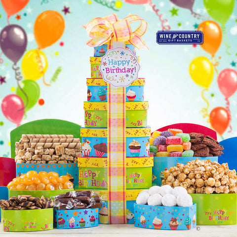 Happy Birthday Celebration Tower
