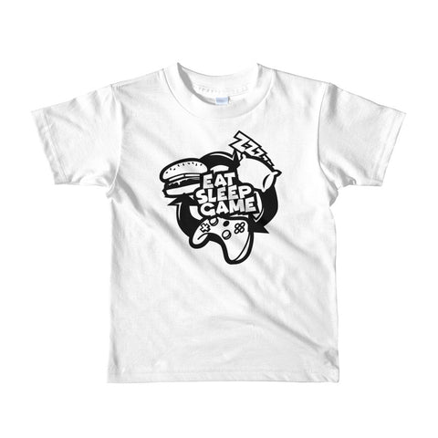 Eat Sleep & Game Short sleeve kids t-shirt