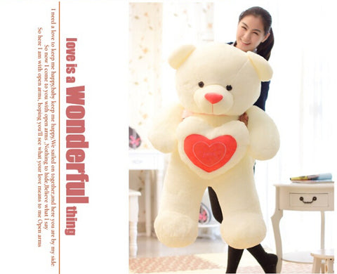 Extra Large Stuffed Plush Toy Teddy Bear Soft Gift for Valentine Day