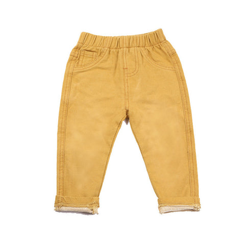 Vintage,Washed Jeans For Boys & Girls Denim Trousers
