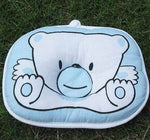 Cute bear print Concave oval shape Neck Support Safe Pillow
