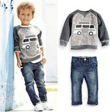 Boys Clothing Set Jeans, Bottoms & Tops