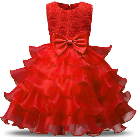 Little Girls Princess Dresses For Formal wear Special Occasions, Weddings and Holiday Dresses