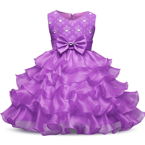 Little Girls Princess Formal Dresses For Special Occasions, Weddings and Holiday Dresses