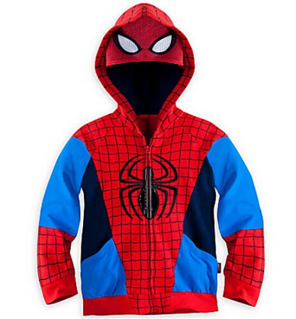 Superhero Outerwear Costumes Hoodies For Boys
