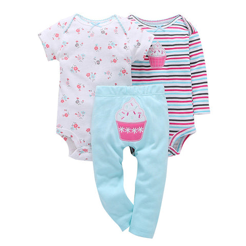3Pc Baby Clothes Set
