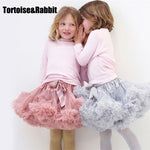 Girls Tutu Skirt Ballerina Pettiskirt Layer Fluffy Ballet Skirts