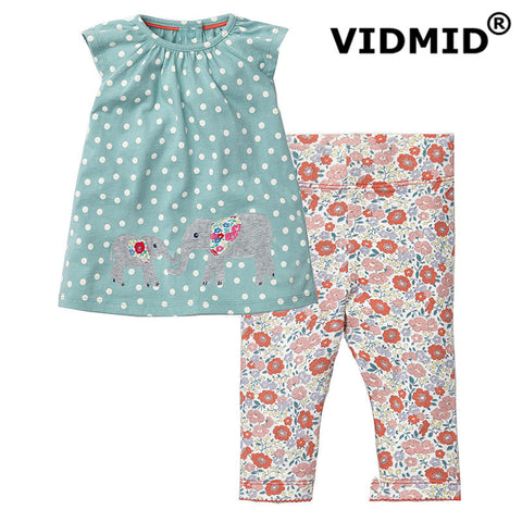 Girl's Summer Clothing Set  t-shirt & pants