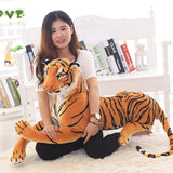 Plush Toy Stuffed Animal Tiger Pillow Doll