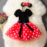 Red Ballet Minnie Mouse Polka Dot Dress