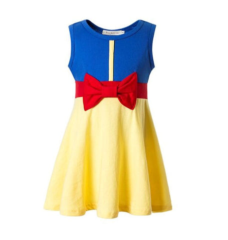 Snow White Themed Dress for Girls