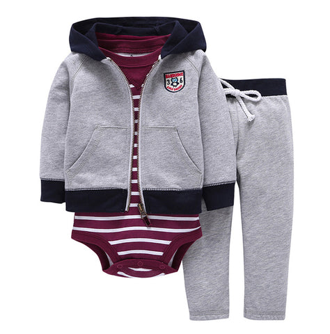 Spring Autumn kids Baby Clothing Sets