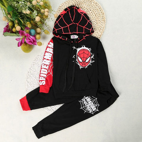 Toddler Boys Clothes Spiderman Boys Clothing Sets