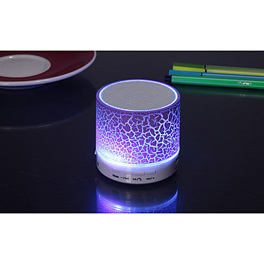Crack Glare Wireless Bluetooth Mini Speaker Subwoofer Card
