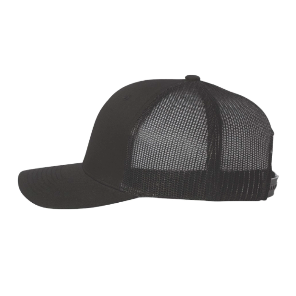 Regular Coffee Retro Hat — Black