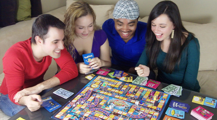 How to Play the Be A Broadway Star board game!