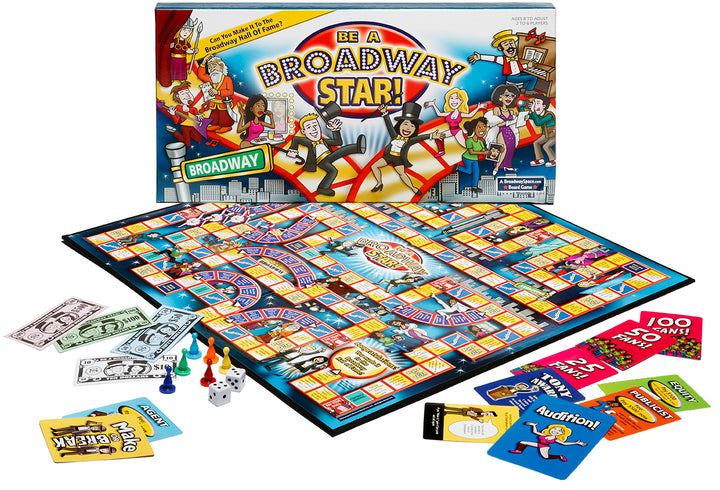 Be a Broadway Star - the popular Broadway board game that puts YOU in the spotlight!