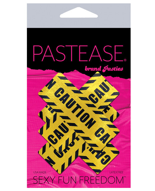 Pastease Caution Cross