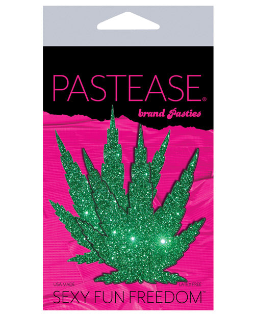 Pastease Glitter Marijuana Leaf