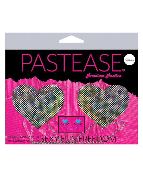 Pastease Chains Disco Heart