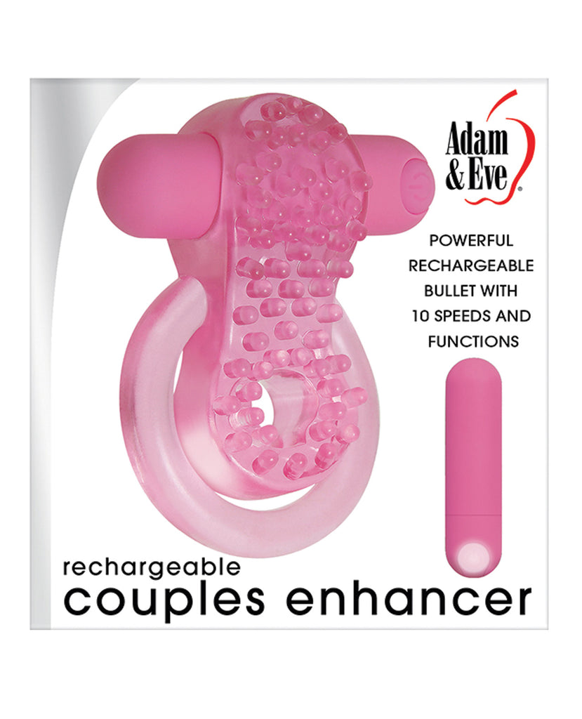 Adam & Eve Couples Enhancer Rechargeable Cock Ring