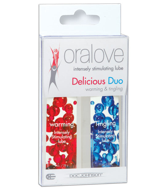 Oralove Delicious Duo Flavored Lube