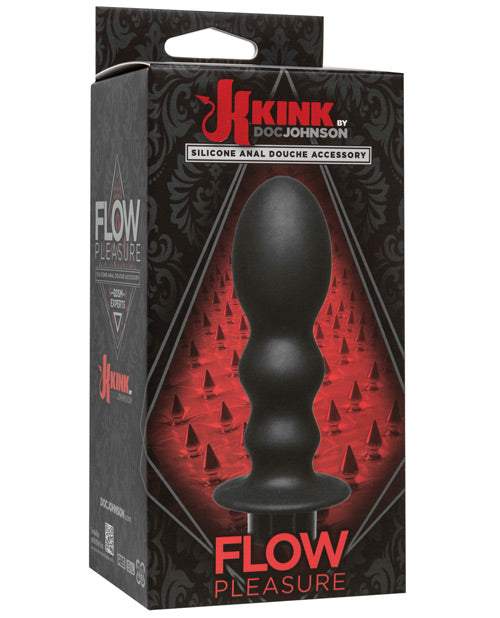 Kink Flow Silicone Anal Douche Accessory Pleasure