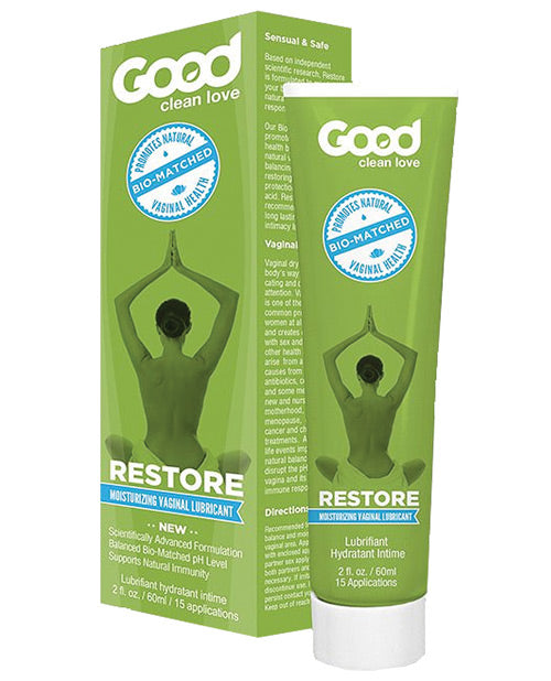 Good Clean Love Bio Match Restore Moisturizing Personal Lubricant