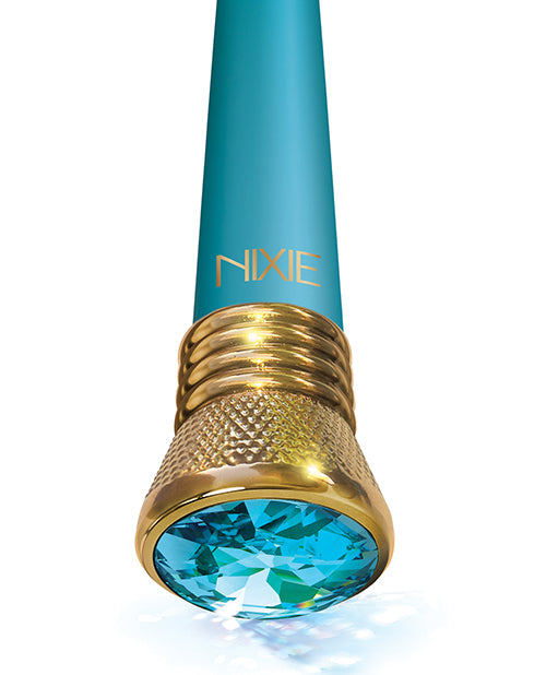 Nixie Mystic Wave Satin Classic Vibe 10 Function Aquamarine