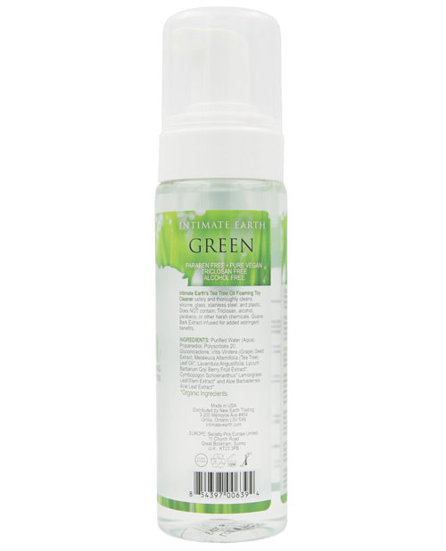 Intimate Earth Green Tea Tree Oil Foaming Toy Cleaner