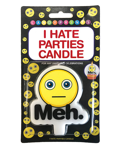 I Hate Parties Candle - Meh