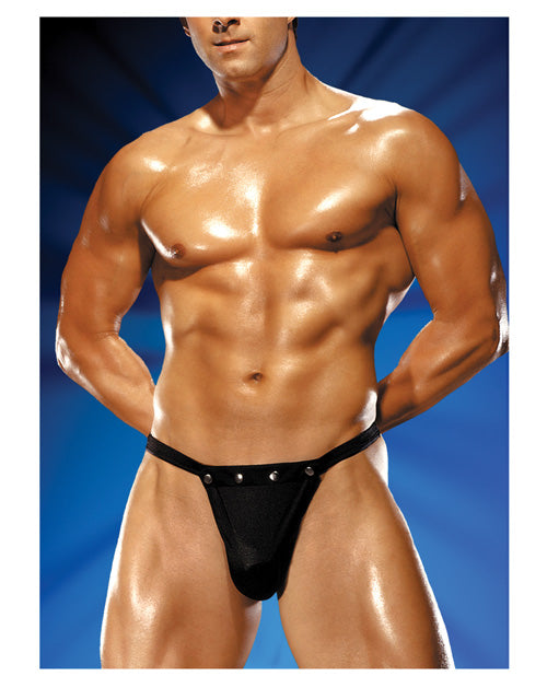 Male Power Rip Off Thong with Studs