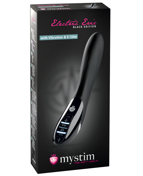 Electric Eric Vibrator Black Edition