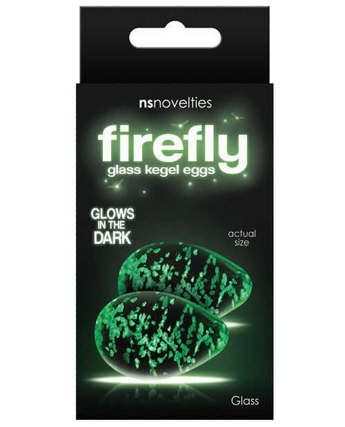 Firefly Clear Glass Kegel Eggs
