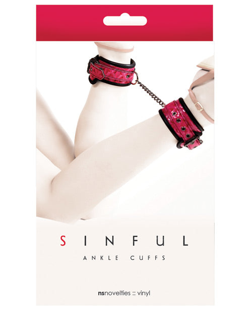 Sinful Ankle Cuffs