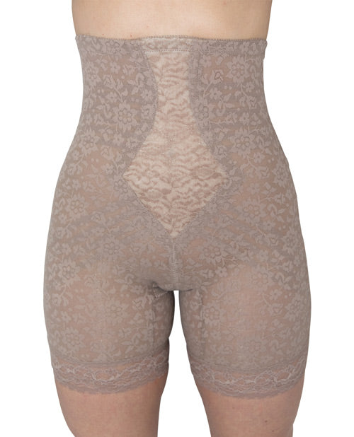 Rago Shapewear High Waist Long Leg Shaper Mocha Xl