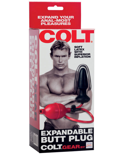 Colt Expandable Butt Plug
