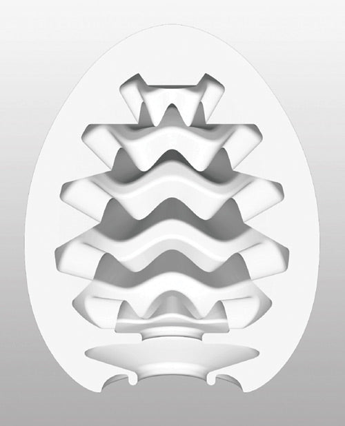 Tenga Egg Wavy Cool Edition