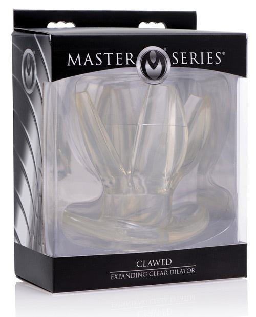 Clawed Expanding Clear Dilator