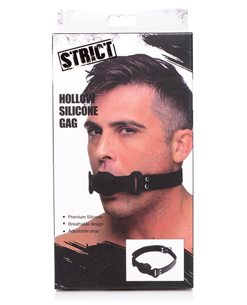 Strict Hollow Silicone Ball Gag